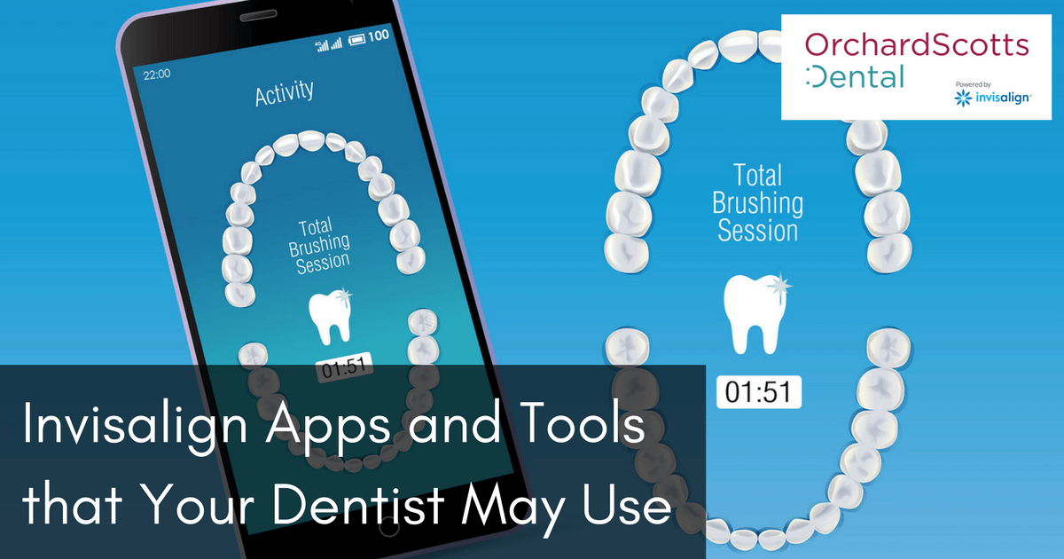 invisalign apps and tools that your dentist may use
