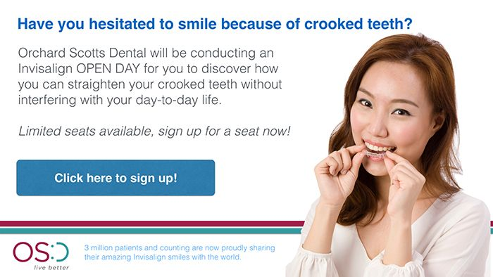 Invisalign Open Day At The Best Dental Clinic in Singapore Orchard Scotts Dental
