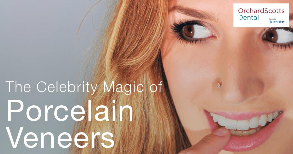 The celebrity magic of porcelain veneers