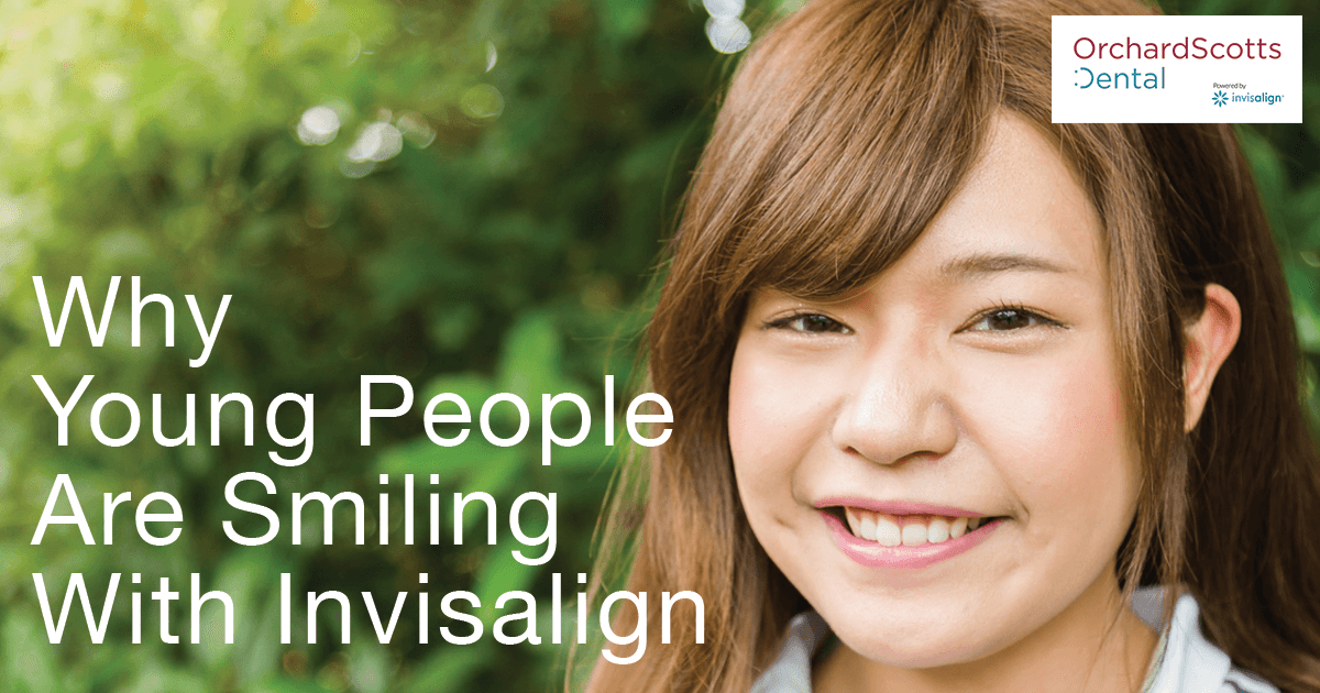 Why young people are smiling with Invisalign